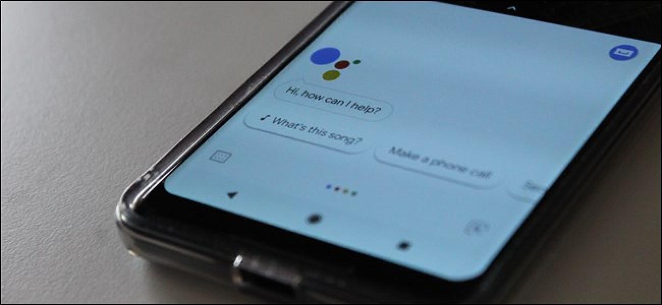 Google AssistantLaster, lasterketak komando anitz automatizatuko ditu