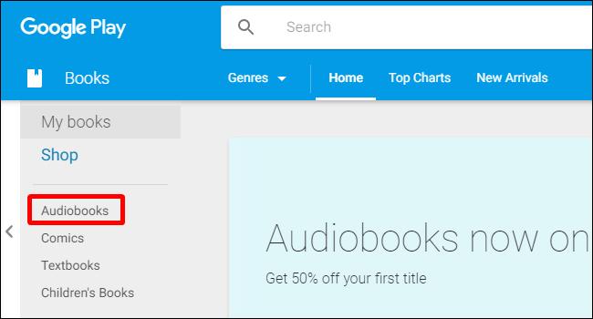 Nola erosi eta entzun Google Play-ren audioliburu berriak 6