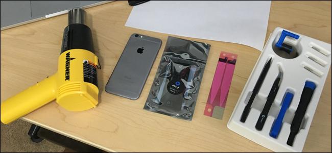 Zenbatekoa da iPhoneko bateria ordezkatzea? 6