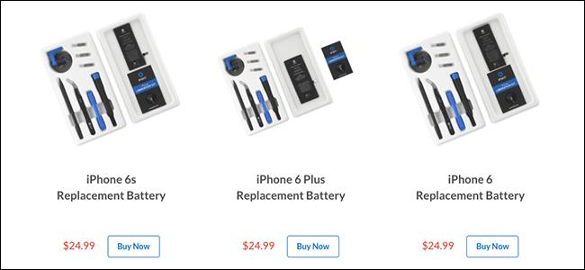 Zenbatekoa da iPhoneko bateria ordezkatzea? 2