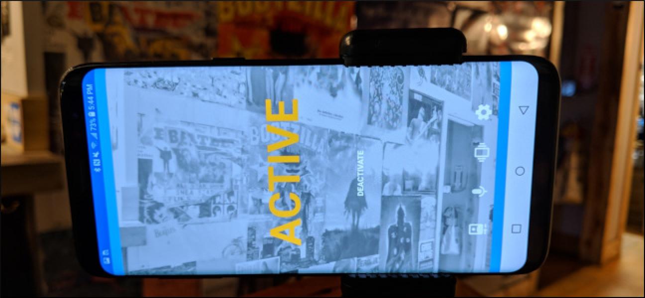 Nola bihurtu Android telefono zahar bat segurtasun kamera bihurtzeko