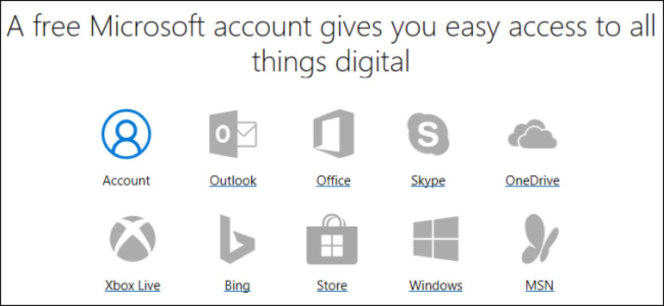 Nola sortu Microsoft kontua