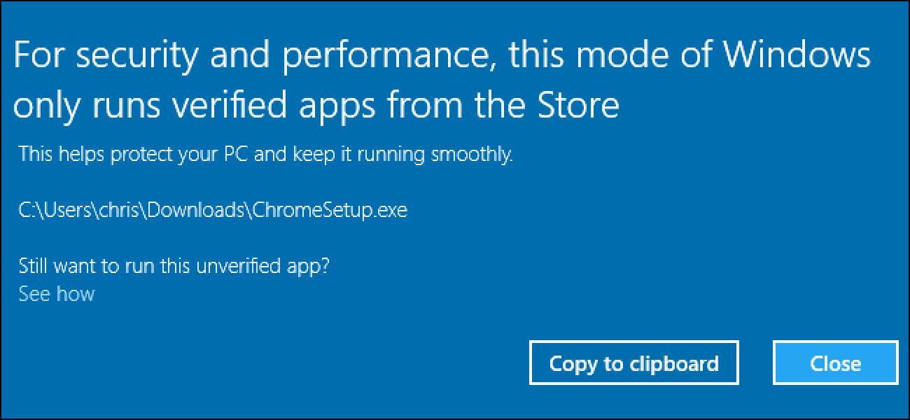 Nola utzi Windows 10's S moduan