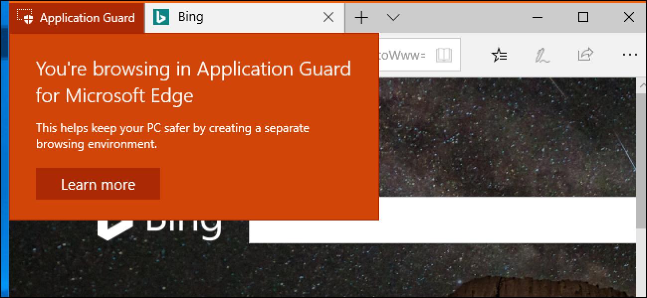 Nola gaitu Windows Defendatzaileen aplikazioen protesta Microsoft Edgerentzat