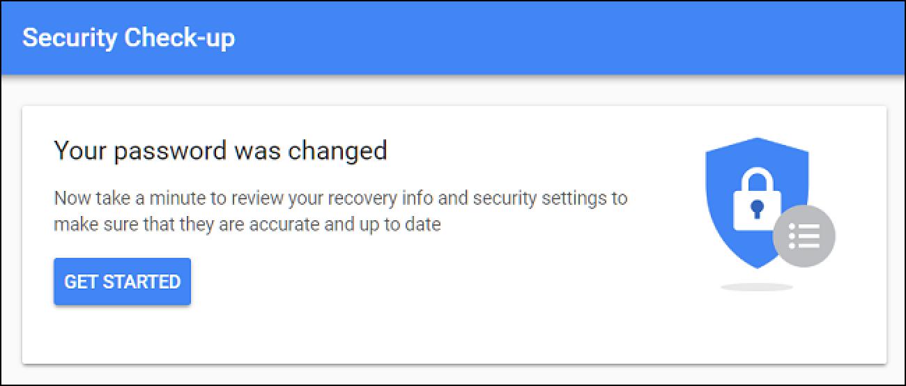 Nola aldatu zure Gmail edo Google Pasahitza