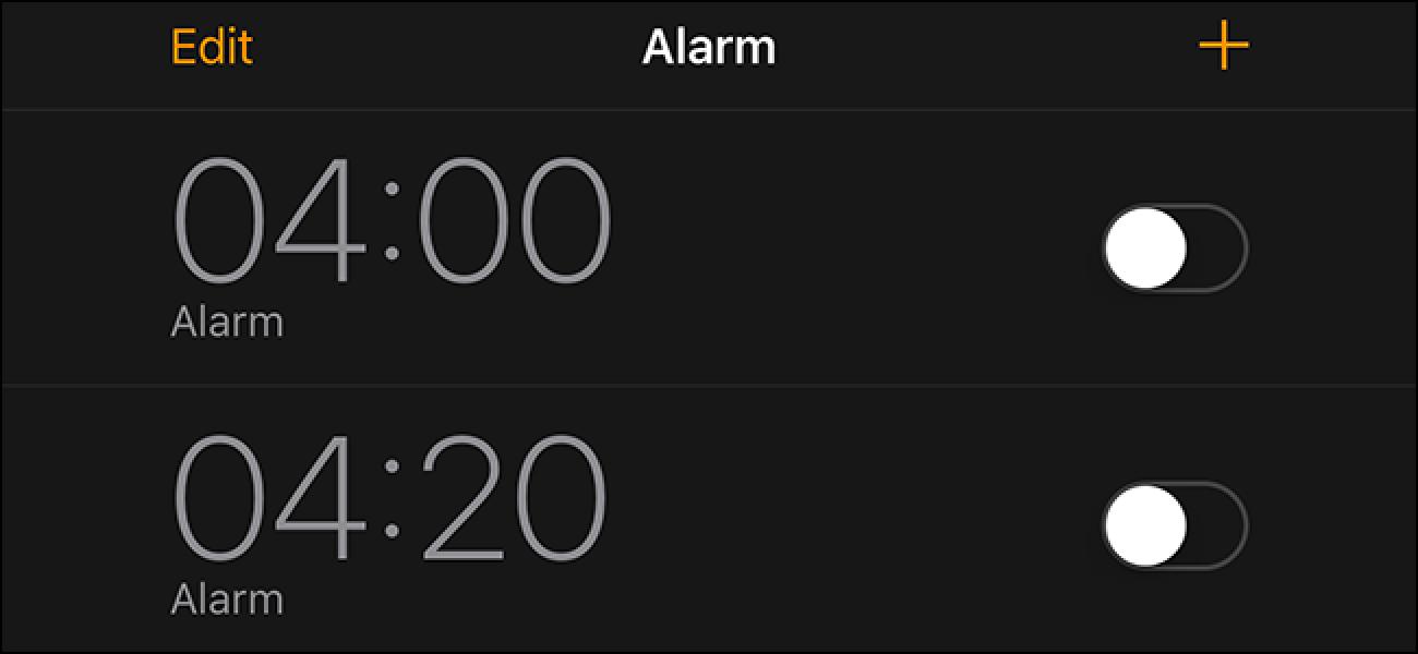Alarma funtzionatuko al da zure iPhone itzalita, isilik edo trabarik ez baduzu?