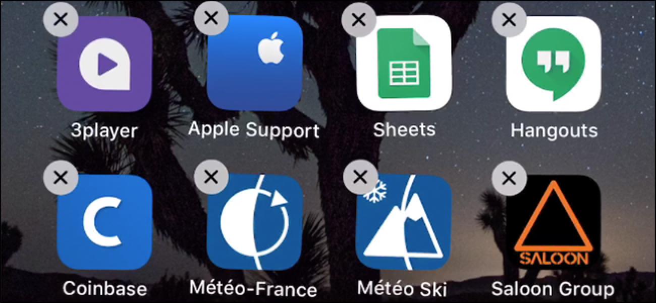 Nola ezabatu edo deskargatu aplikazioa iPhone edo iPad-en