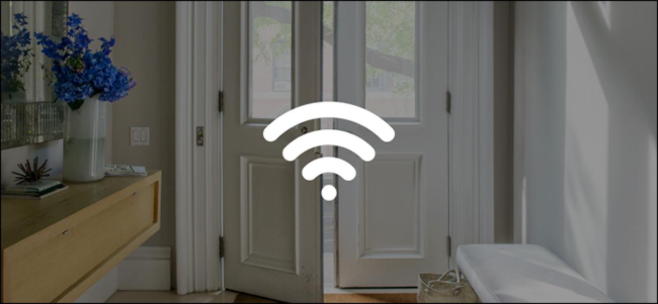 Nola konektatu Nest Secure Wi-Fi sare berri batera