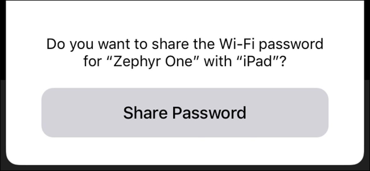 Nola erraz partekatu zure Wi-Fi pasahitza zure iPhone eta iOS 11 erabiliz