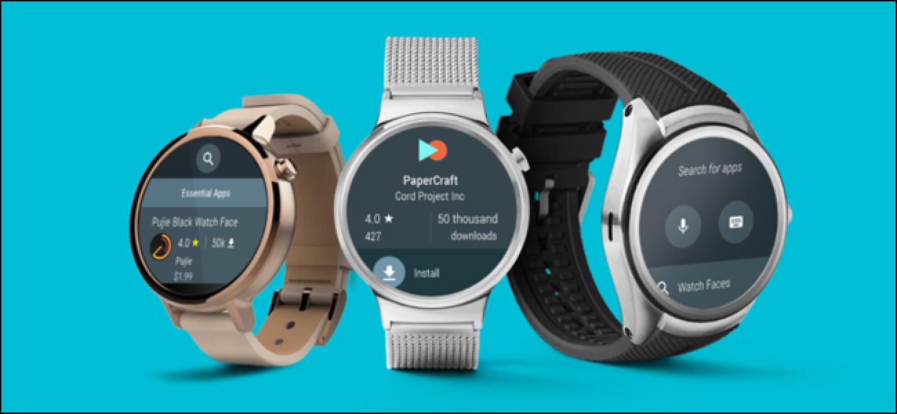 Nola konfiguratu, txikitu eta nola erabili zure Android Wear Watch