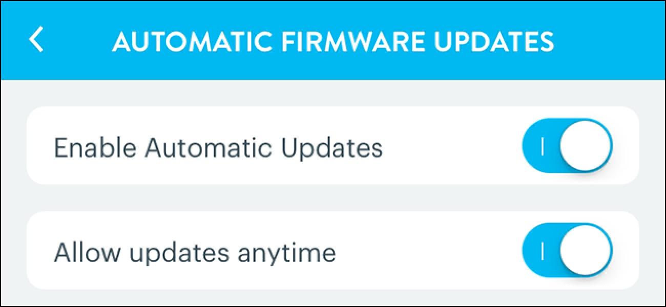 Nola gaitu zure keinu automatikoko firmware eguneratzeak Hub
