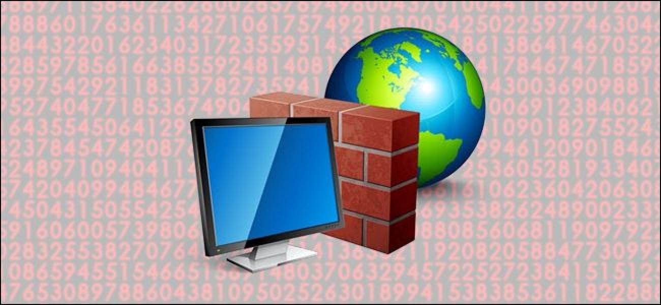 Nola blokeatu aplikazio bat Internetera sartzea Windows Firewall