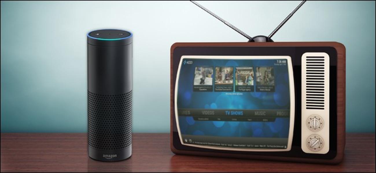 Nola kontrolatu zure Kodi Media Center-a batekin Amazon Echo
