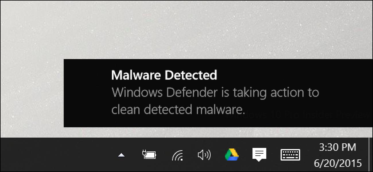 Nola erabili barneratua Windows Defender Antivirus aktibatuta Windows 10