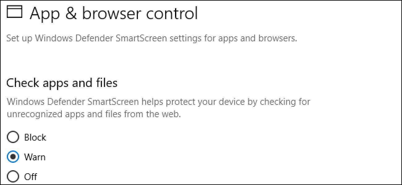 Nola desgaitu SmartScreen iragazkia Windows 8  edo 10