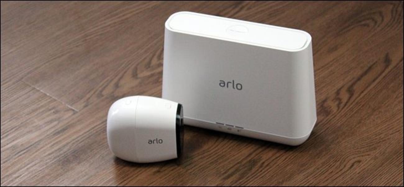 Nola konfiguratu Netgear Arlo Pro kamera sistema