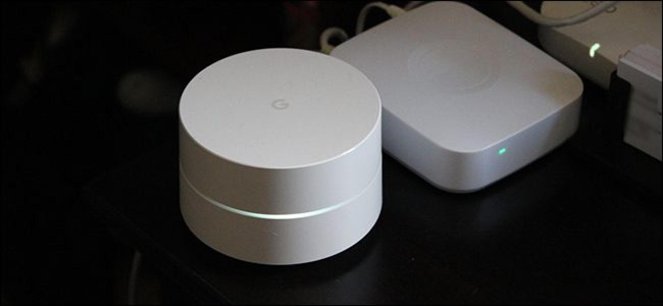 Nola desaktibatu Estatistikak & amp; Diagnostikoen berri ematea Google WiFi-en