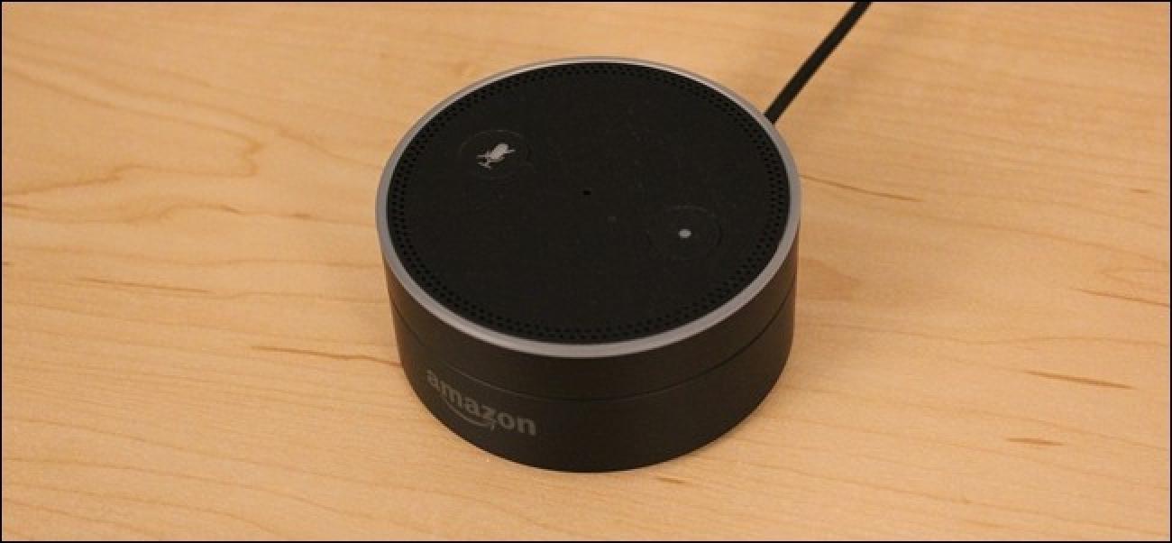 Nola Fabrika Berrezarri Amazon Echo edo Echo Dot