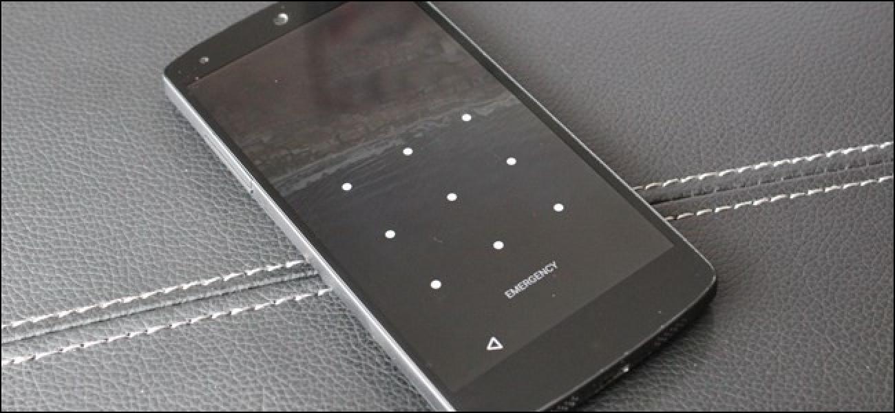 Nola ziurtatu Android telefonoa PIN batekin, pasahitzarekin edo patroiekin