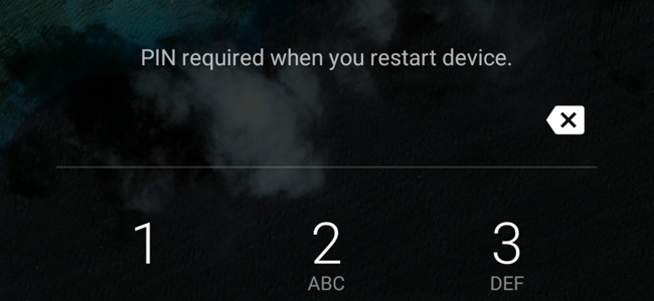 Nola konpondu PIN akatsak TWRP Android Backupetatik berreskuratu ondoren