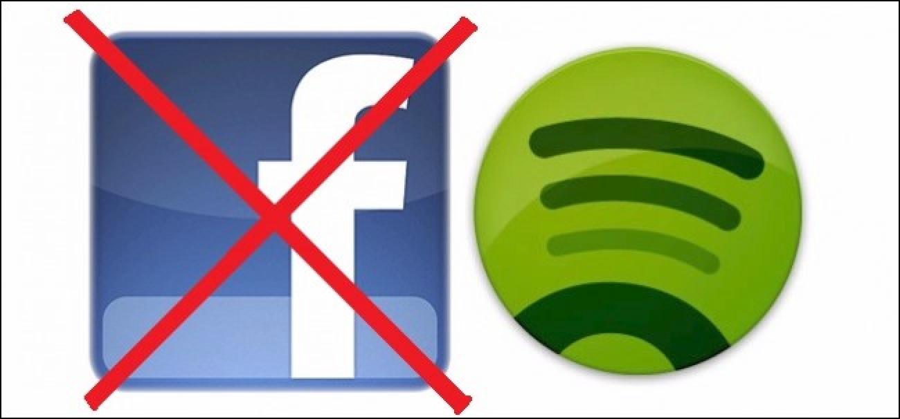 Nola egin Spotify-era mezuak bidaltzeko Facebook (eta bestelako pribatutasun-ezarpenak)