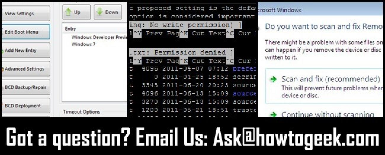 Galdetu HTG: Kendu Windows 8, Linux Fitxategien Baimenak ulertu eta Populazioak sartzeko arakatu eta konpondu Windows