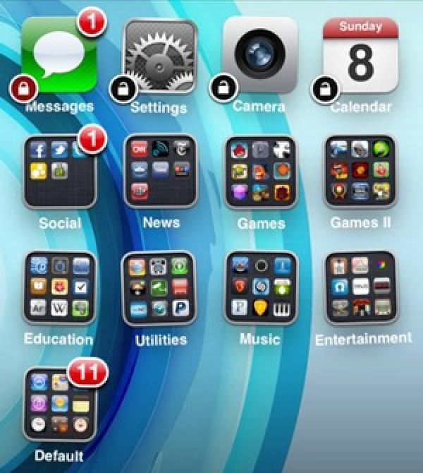 Locktopus-ek iOS gailuetan aplikazio indibidualak blokeatzen ditu