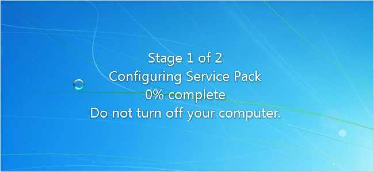 Windows 7  Zerbitzu paketea 1 kaleratu da: baina instalatu beharko zenuke?