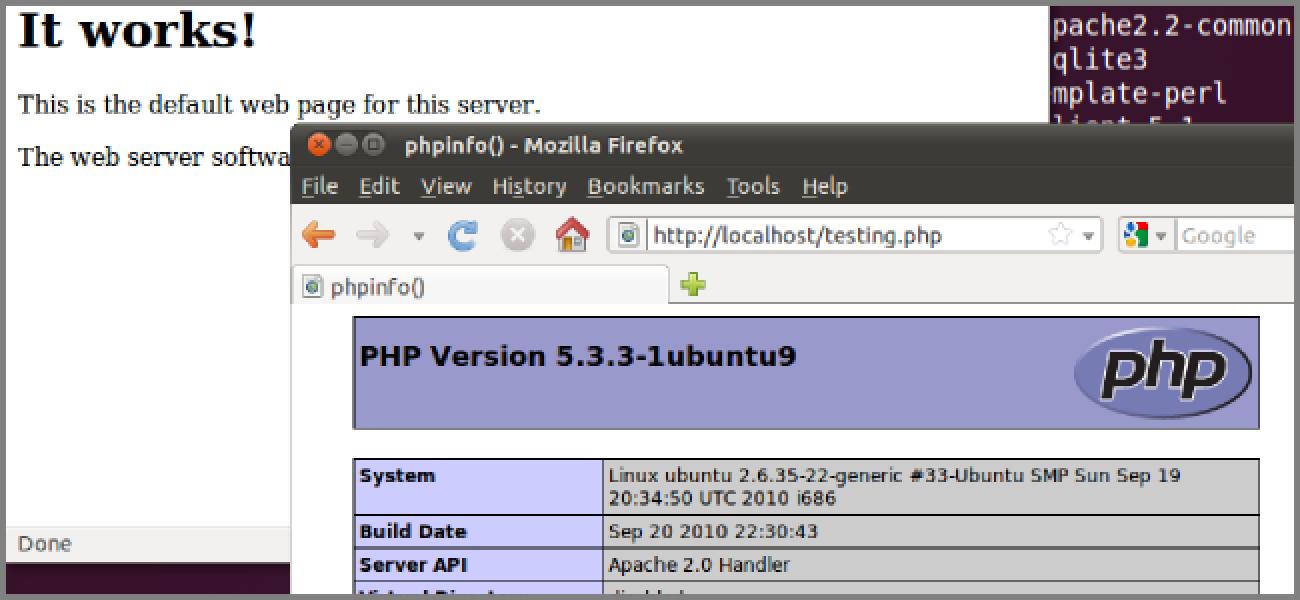 Nola bihurtu zure Etxeko Ubuntu PCa LAMP Web zerbitzari batean
