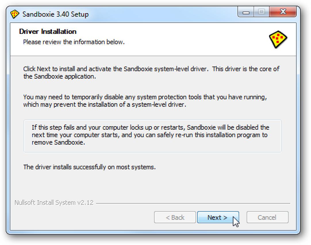 Exekutatu aplikazioak Sandboxie-n zure sistema garbi eta segurua mantentzeko