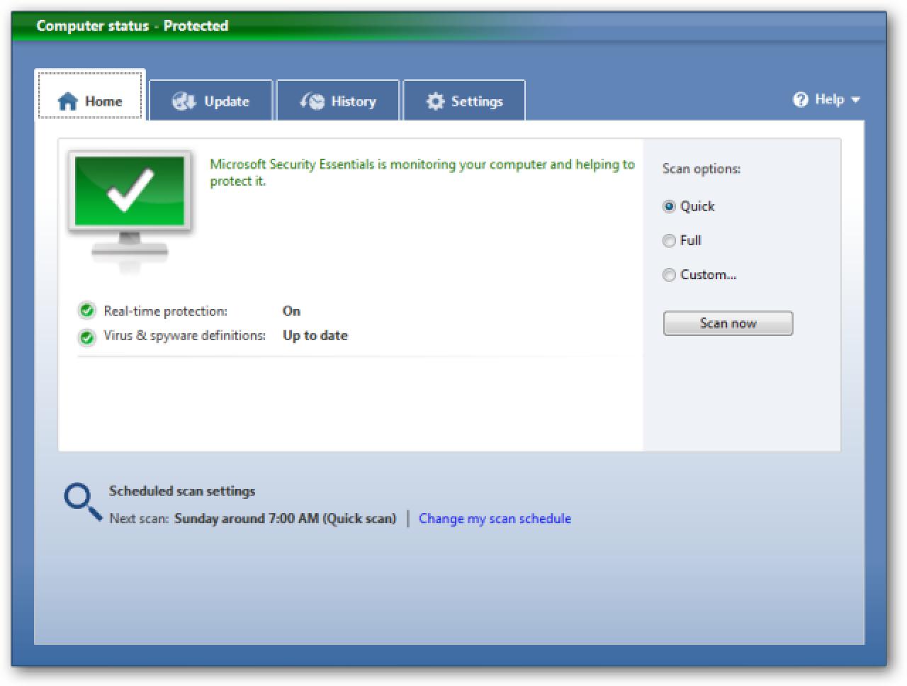 Microsoft Security Essentials Doako antibirus tresna da
