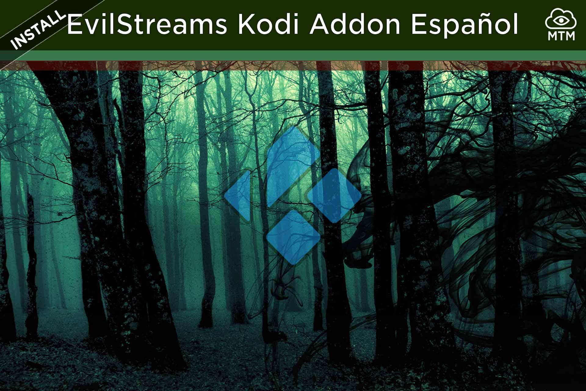 Nola instalatu EvilStreams Kodi Live TV Addon Español