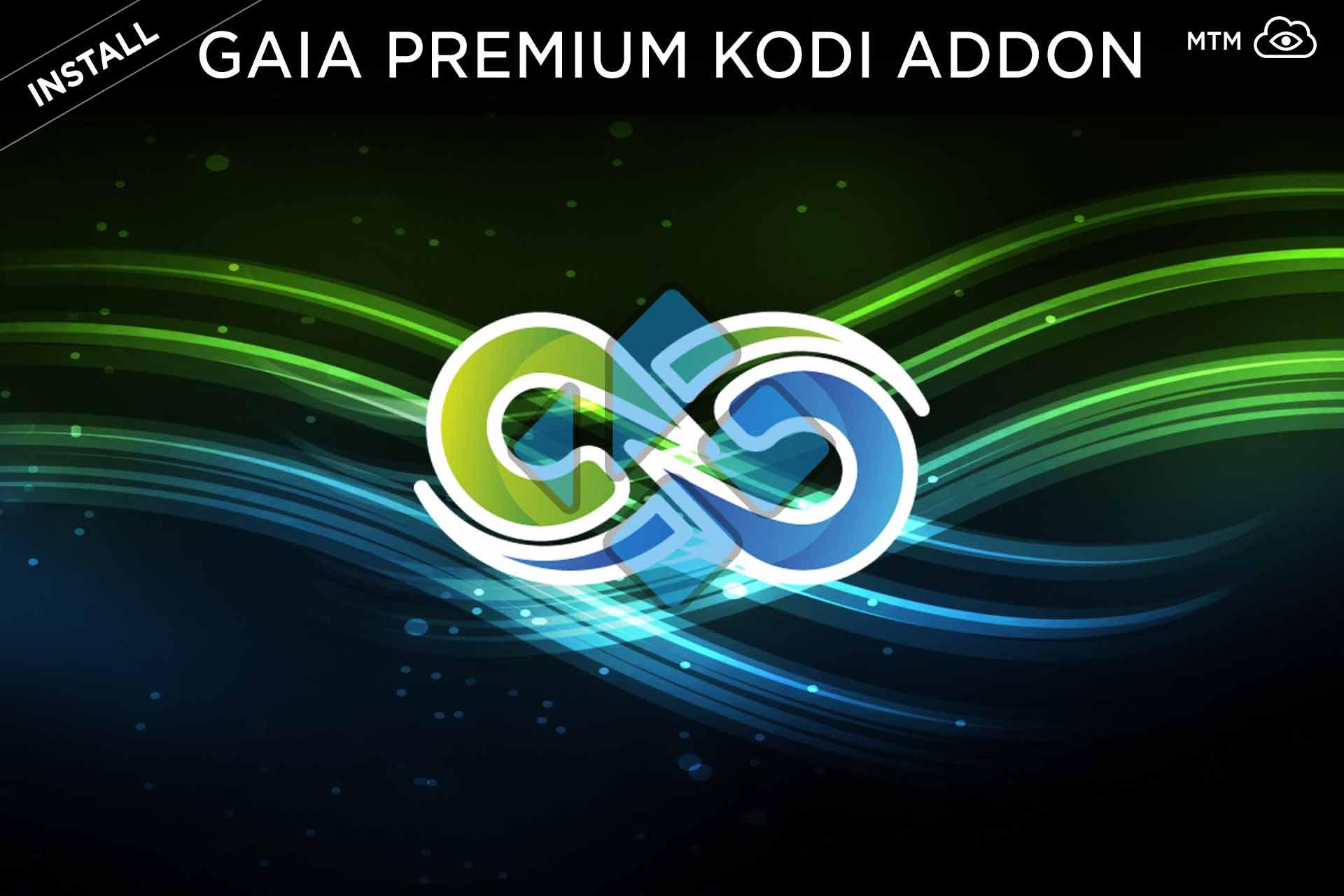 Instalatu Gaia Kodi Addon Torrent, Usenet eta Debrid Video Streaming