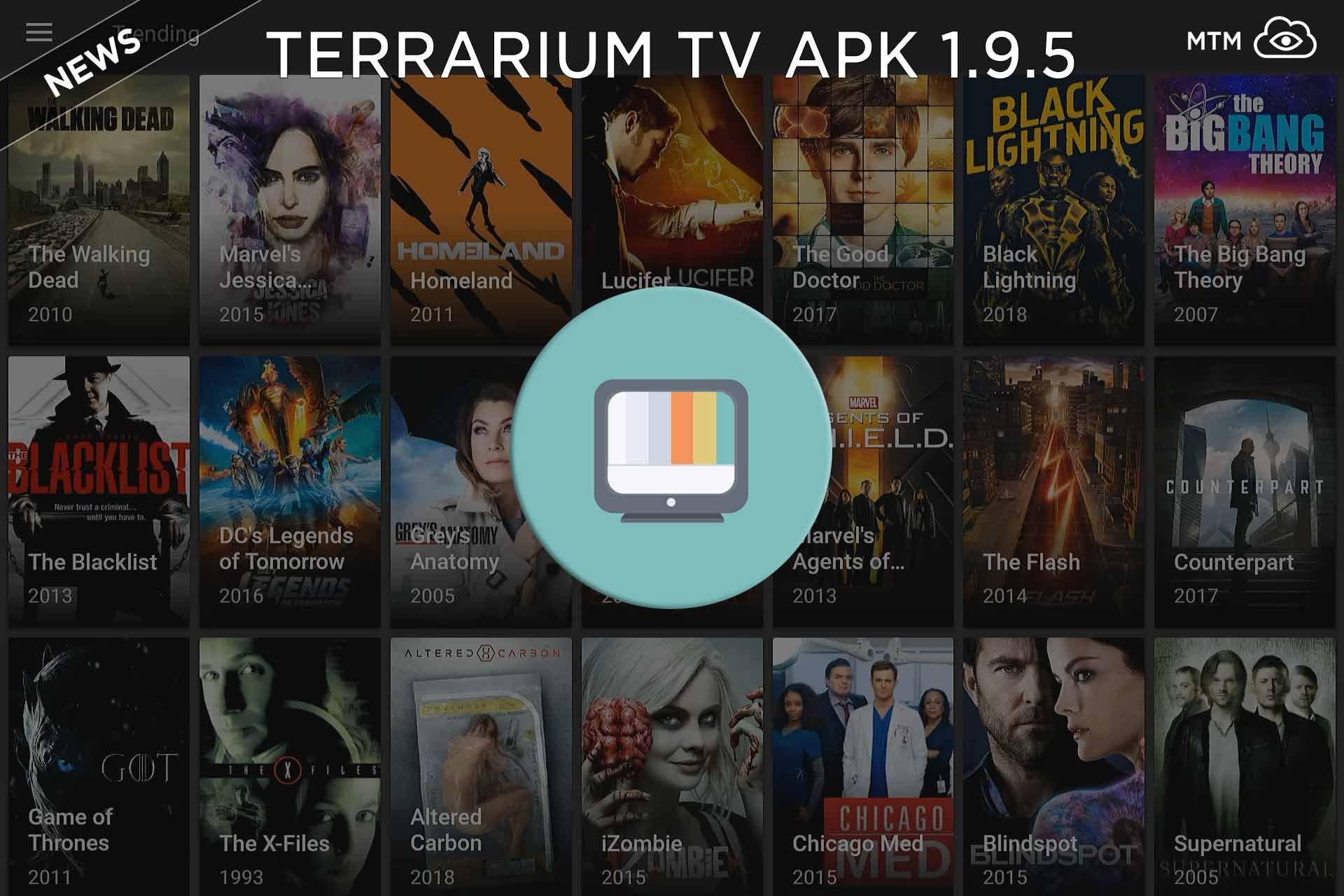 Terrario telebista 1.9.5 APK Eguneratutako aplikazioa martxoaren 17an kaleratua