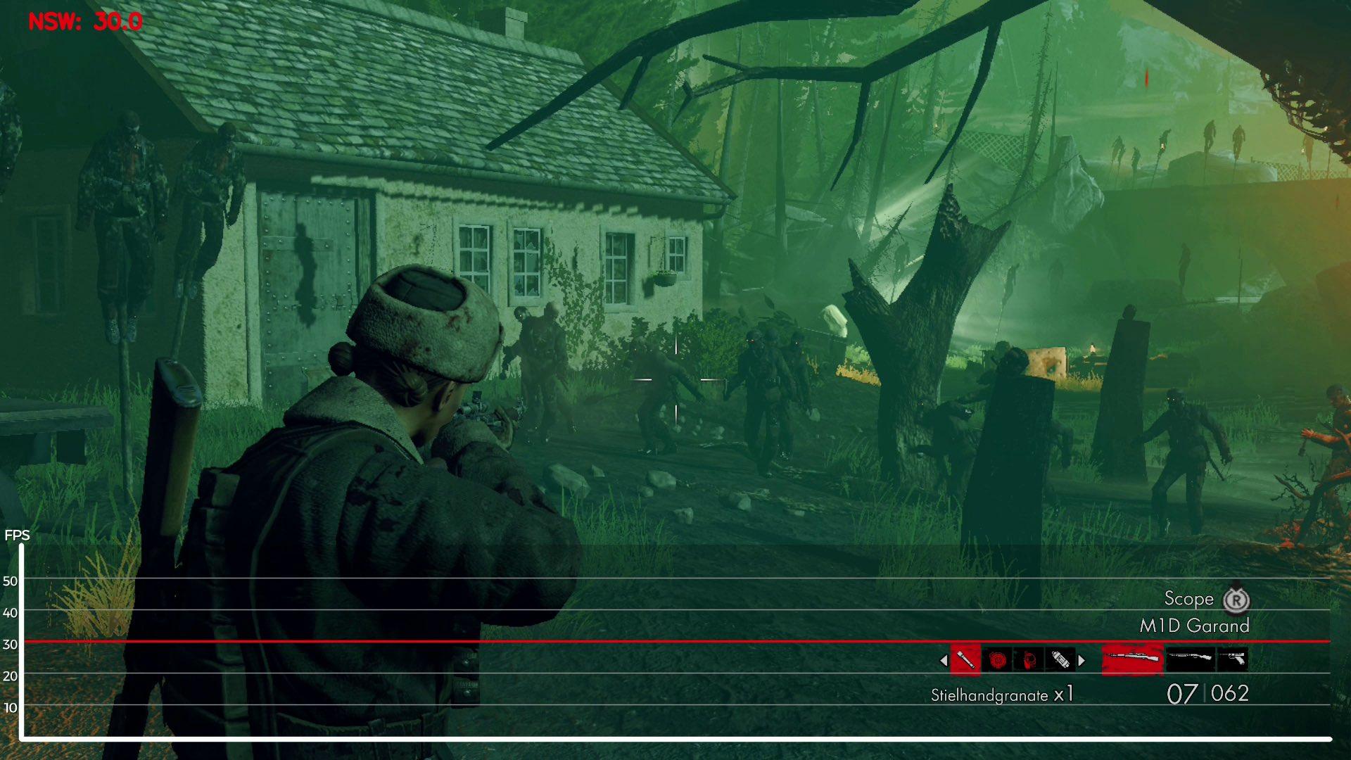 Zombie Army trilogiarako Switch portu sendoa da, baina baliteke zure lagunak ekarri behar izatea 3
