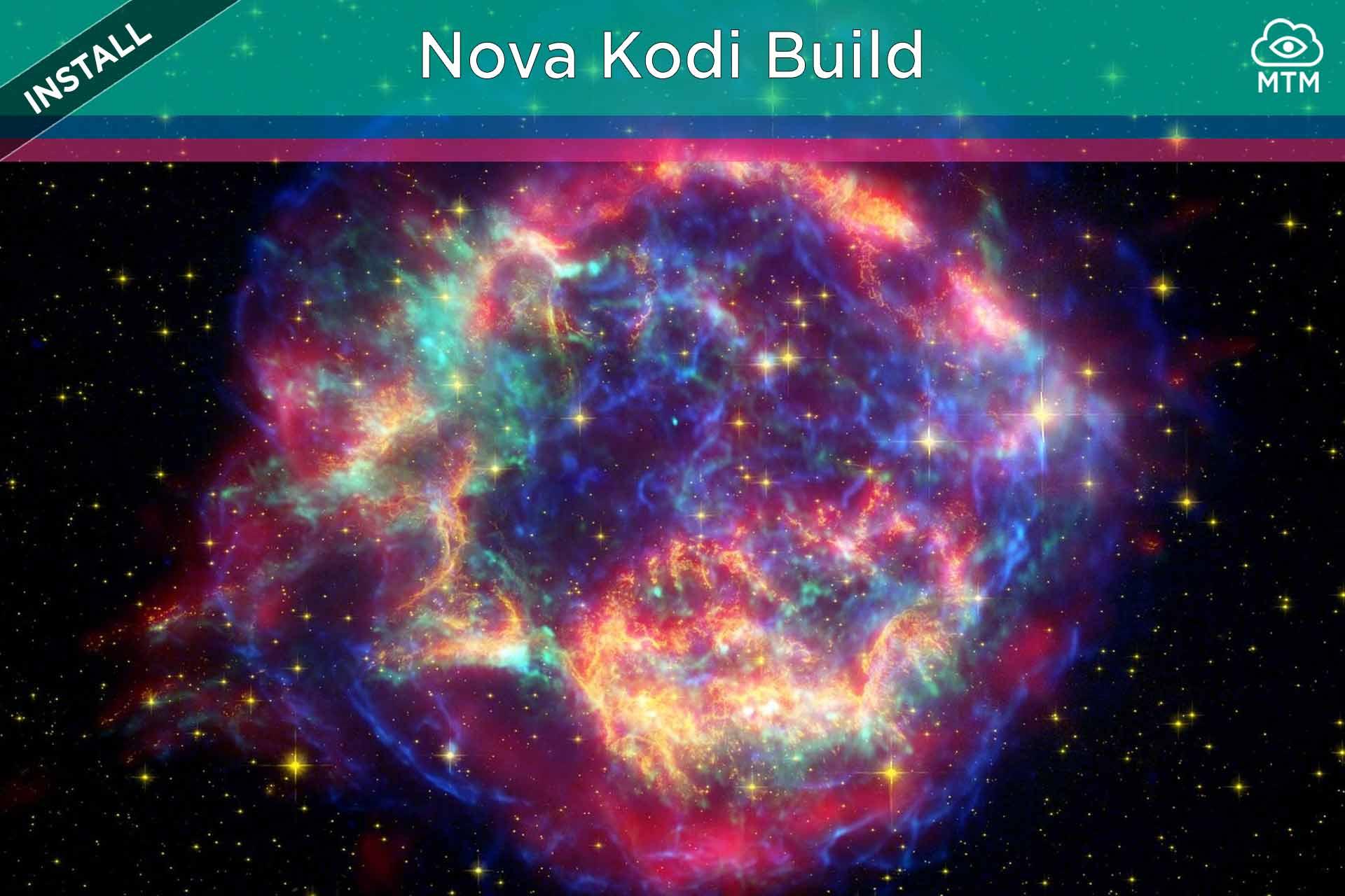 Nola instalatu Nova Kodi Build eraikin soilen morroiatik