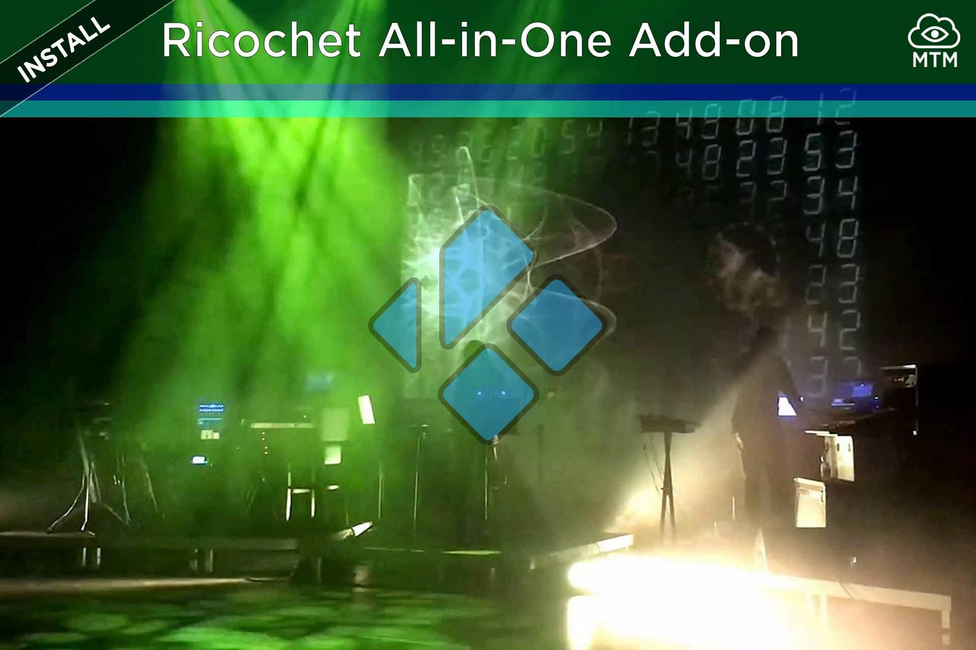 Nola instalatu Ricochet Kodi All-in-One Addon