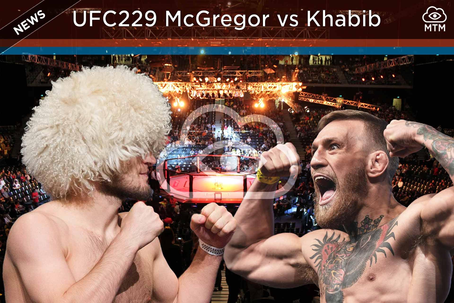 Nola ikusi UFC 229 McGregor vs Khabib Fight Live Streaming Online