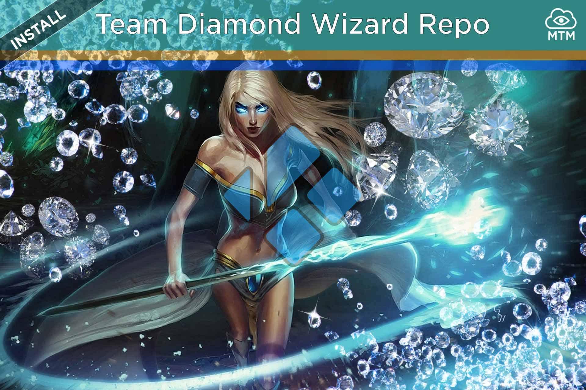 Nola instalatu Team Diamond Wizard Repository