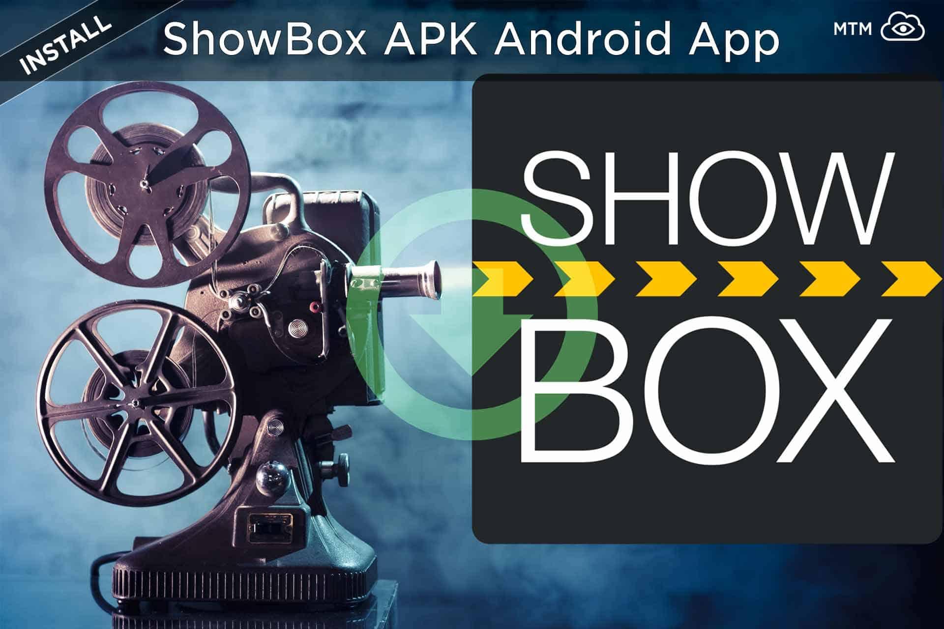 Deskargatu ShowBox Free Movies App APKrako Firestick, Android edo Windows PC instalatu