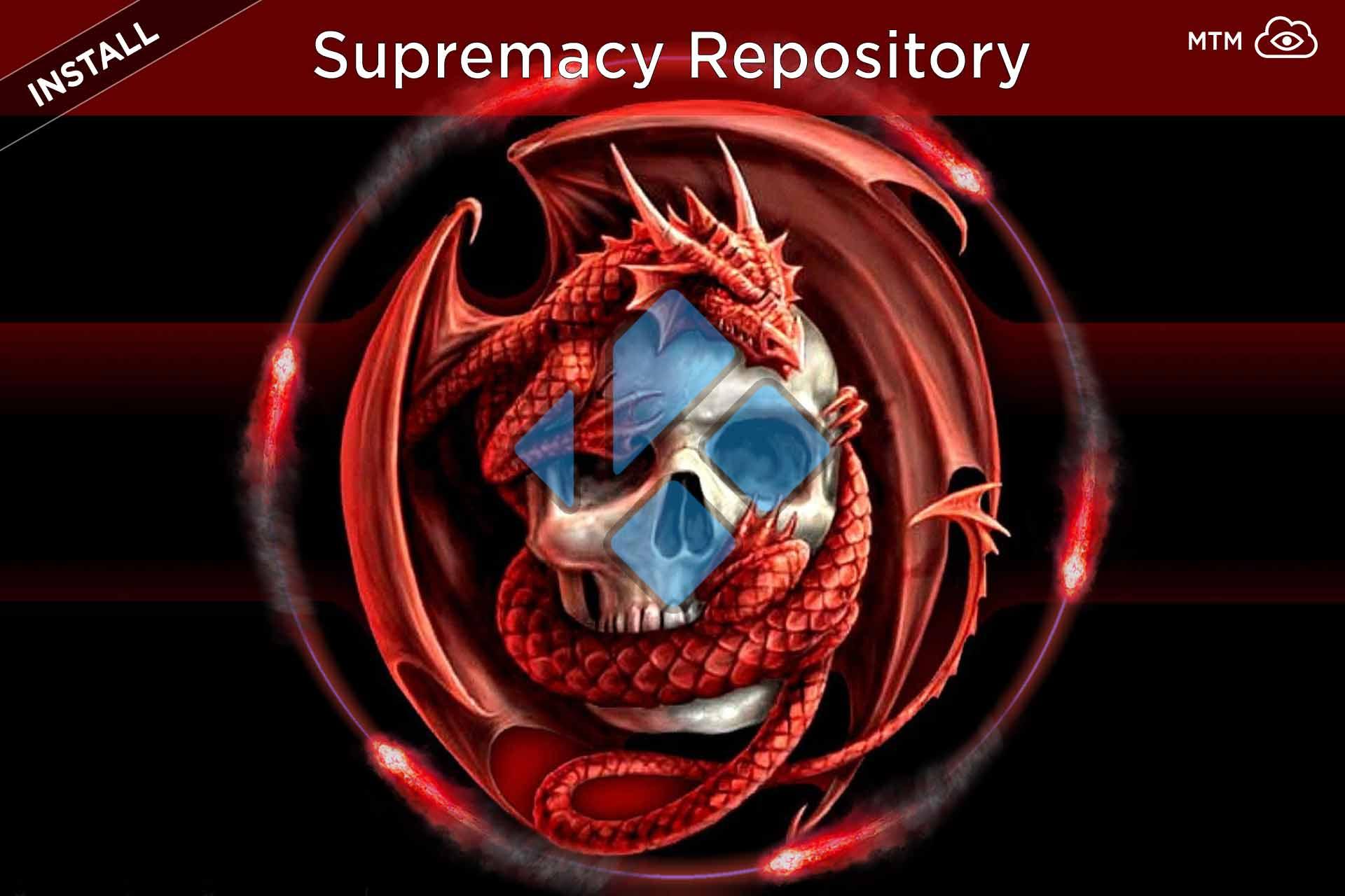 Nola instalatu Supremacy Repo Kodi Repository 2019