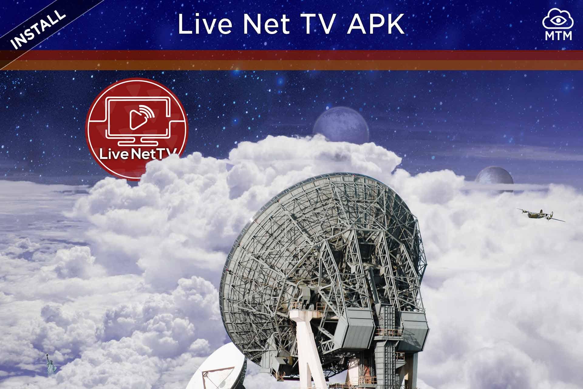 Instalatu Live NetTV APK Firestick eta Android TV Box-en