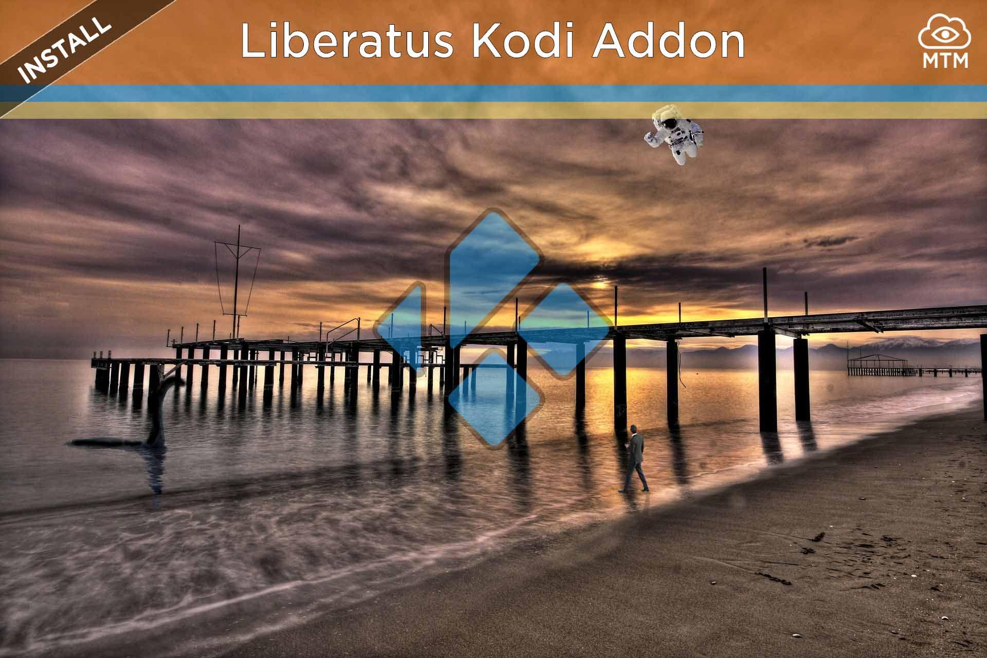 Nola instalatu Liberatus Kodi Addon Free Streaming Movies