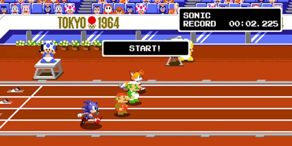 Mario & Sonic Tokyo 2020ko Olinpiar Jokoetan 3