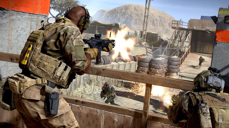 Modern Warfare-ren joko anitza freskoa da, baina oso zigorra