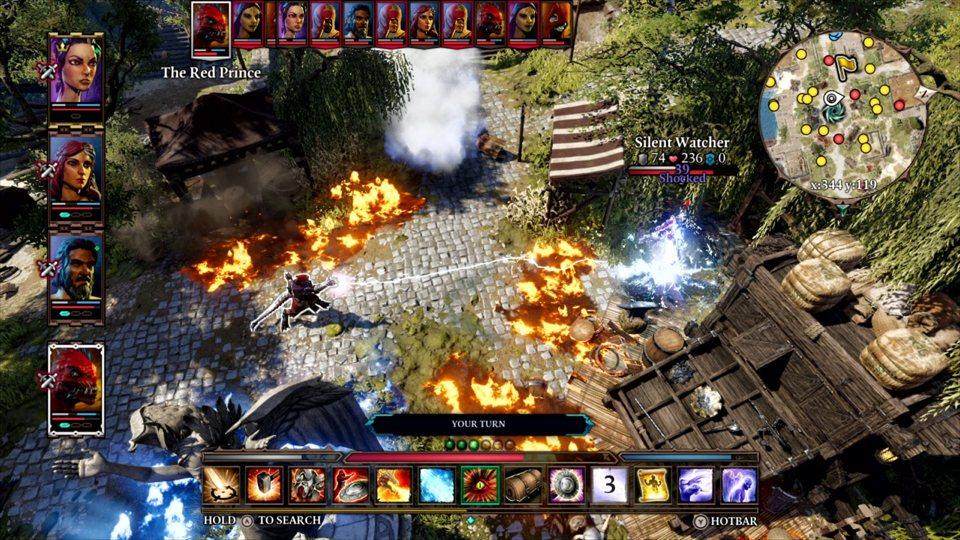 Divinidad: Jatorrizko Sin 2 buruzko Switch CRPG maisulan eramangarria da 2