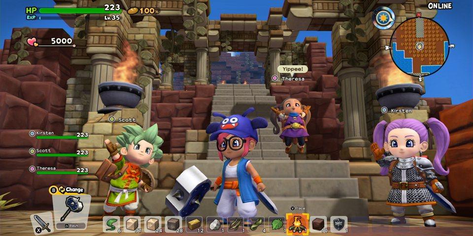 Dragon Quest eraikitzaileak 2 Review 2