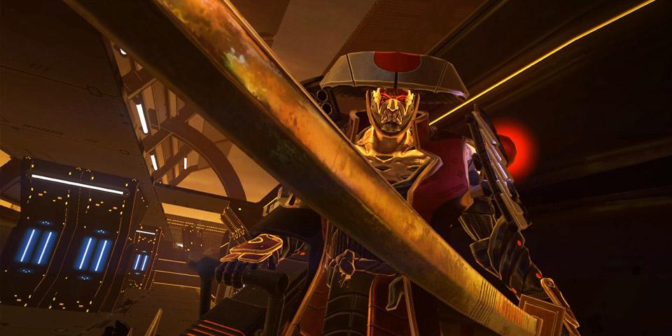 Sairento PlayStation VRren cyber ninja sim zenbakia da 2