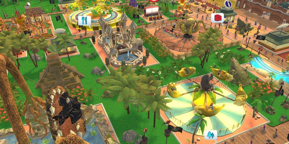 RollerCoaster Tycoon Adventures berrikuspena 2