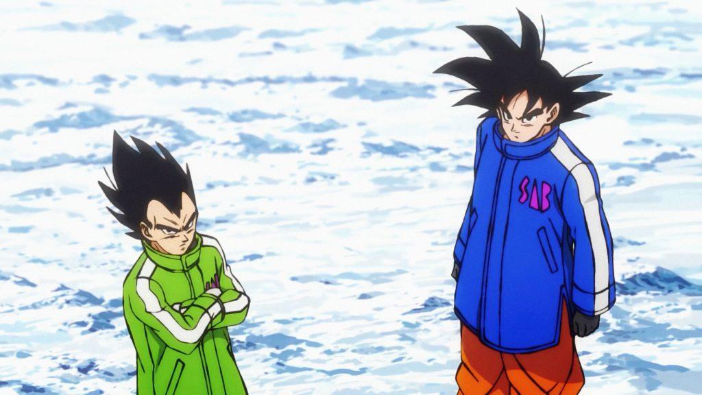 Dragon Ball Super: Broly - Goku eta Vegeta
